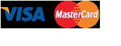 Credit card Visa / MasterCard