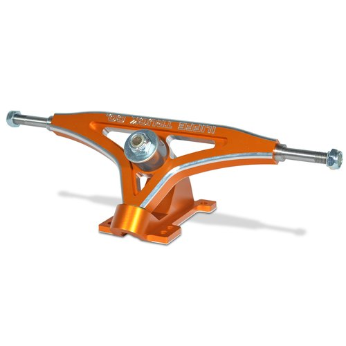 ILIFFE CNC Longboard trucks Downhill in ORANGE - Set