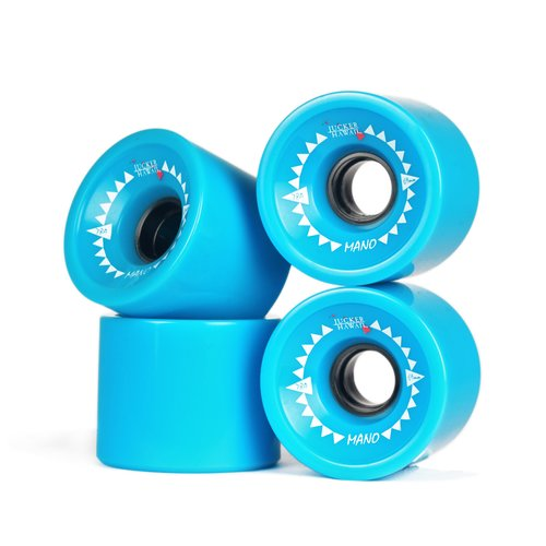 JUCKER HAWAII Longboard Rollen MANO 69mm 78A CP52 (4er Set)