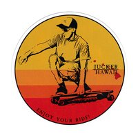 JUCKER HAWAII STICKER Sunrise