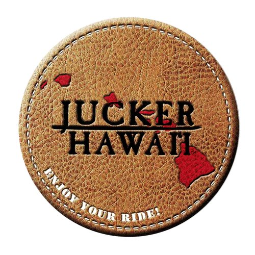 JUCKER HAWAII STICKER Leather-like