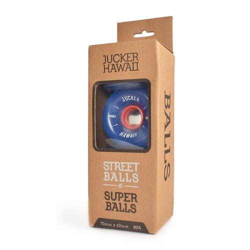 JUCKER HAWAII Longboard Rollen SUPERBALLS 70mm 80A CP32 (4er)