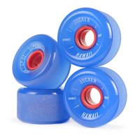 JUCKER HAWAII Longboard Rollen SUPERBALLS 70mm 80A CP32...
