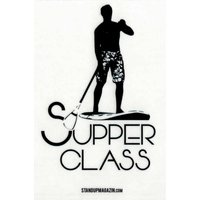 STAND UP MAGAZIN STICKER Supper Class Transparent