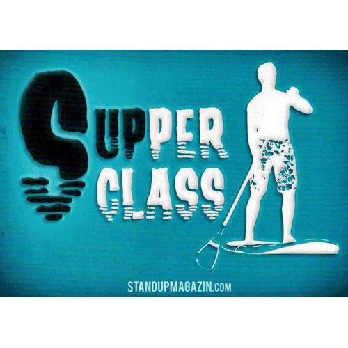 STAND UP MAGAZIN STICKER Supper Class Caribbean Paddle