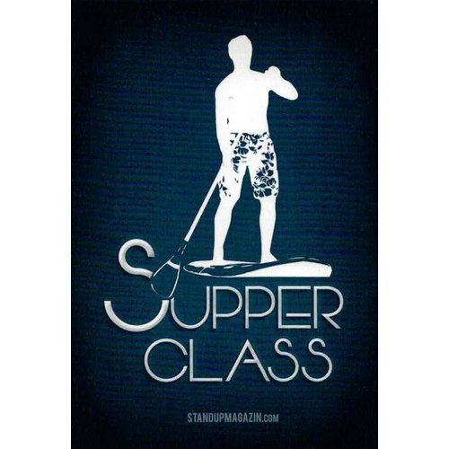 STAND UP MAGAZIN STICKER Supper Class Night Blue