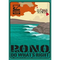 JUCKER HAWAII STICKER Pono