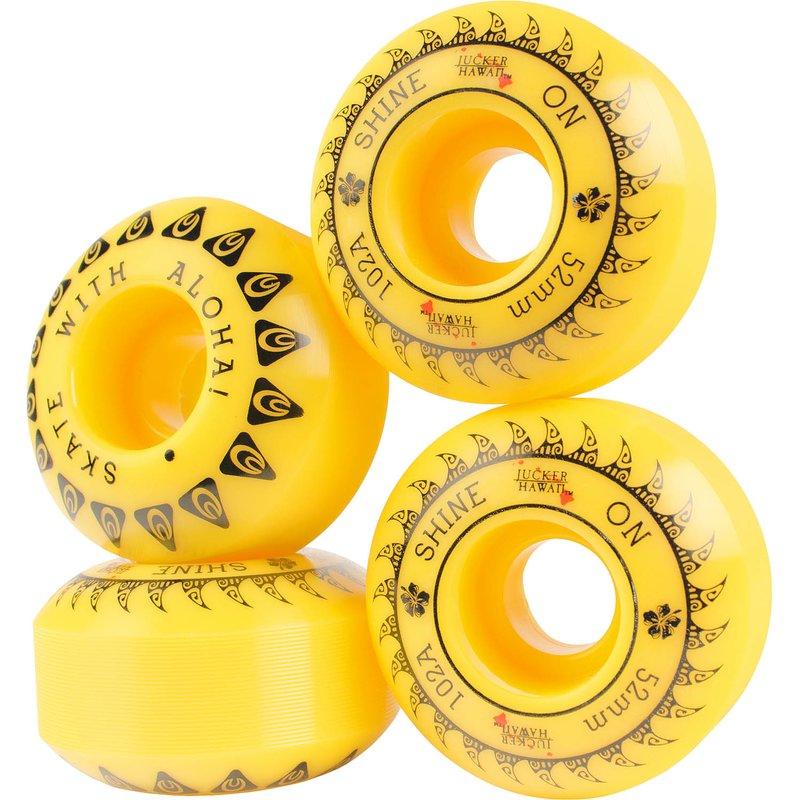 JUCKER HAWAII Skateboard Rollen SHINERS Wheels ...