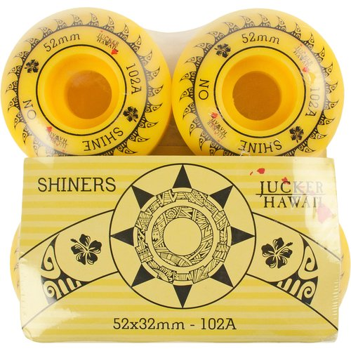JUCKER HAWAII Skateboard Rollen SHINERS Wheels 52x32 102 A